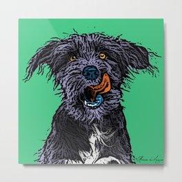 Pop Art Dog Metal Print