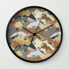 Deserts Travelers Wall Clock