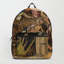 Visions of Hell by Heironymus Bosch Backpack