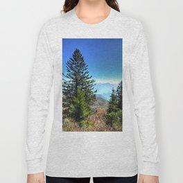 Blue Ridge Mountains North Carolina Long Sleeve T-shirt