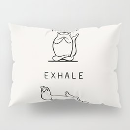 Inhale Exhale Otter Pillow Sham
