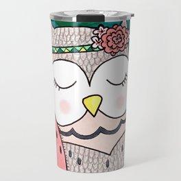 Spring Owl Travel Mug