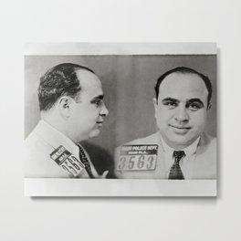 Al Capone Mug Shot, 1931. Vintage Photo Metal Print