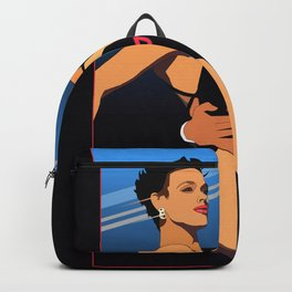 80s Stallone synthwave Backpack