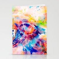 iris Stationery Cards featuring Iris by Kimsey Price