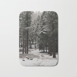 Carol Highsmith - Snow Covered Trees Bath Mat