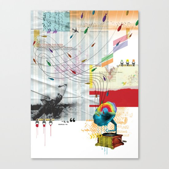War Antheme Canvas Print