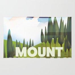 Mount Kinabalu Malaysia Rug