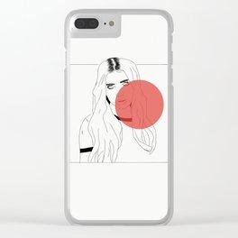 DUA LIPA X RED Clear iPhone Case