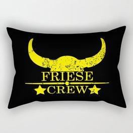 Friese crew wild west emblem yellow Rectangular Pillow