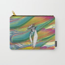 Kingfisher 1h. Crazy Colors - (Red eyes series) Carry-All Pouch