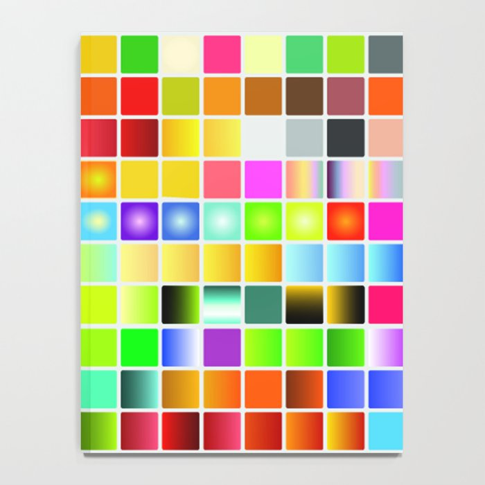 Palette color Notebook