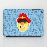 street fighter iPad Cases featuring Bison - Street Fighter by Kuki