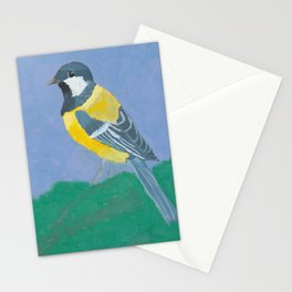 Paridae (Great Tit Bird) Stationery Cards