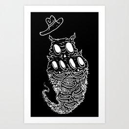 Crunchfingers 3 Art Print