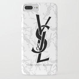 Young   Savvy   & Lavish   YS&L iPhone Case