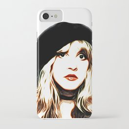 Stevie Nicks - Rhiannon - Pop Art iPhone Case