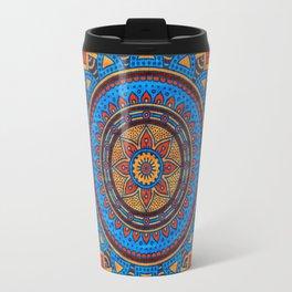Hippie mandala 73 Travel Mug