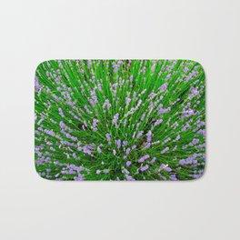 Lavender Close Up Bath Mat