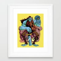 butcher billy Framed Art Prints featuring BILLY! by Rob S