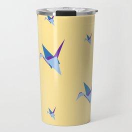 A Siege of Cranes Travel Mug