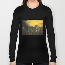 Justice Freeing Her Captives Long Sleeve T-shirt