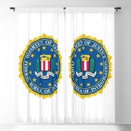 FBI Seal Blackout Curtain