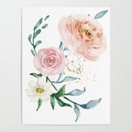 Rose Arrangement No. 1 Poster