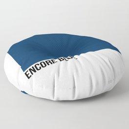 ENCORE BLUE Floor Pillow