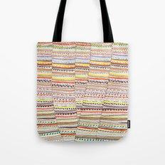 Cone pattern Tote Bag