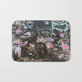 Alien Meditation Bath Mat