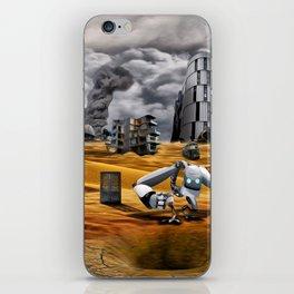 Catastrophic world iPhone Skin