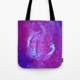 Swan Supernova Tote Bag