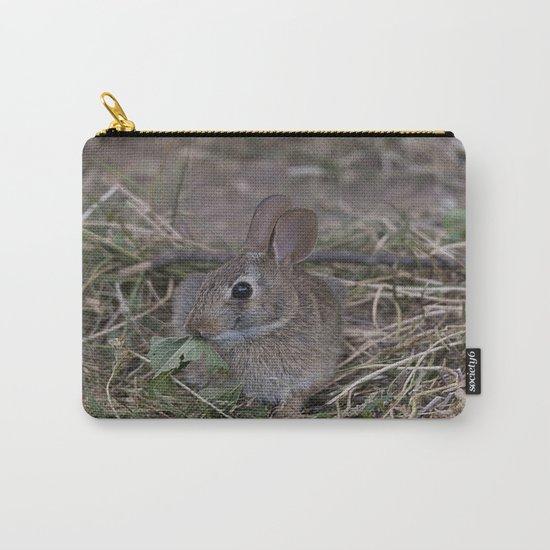 Tiny Garden Bunny Carry-All Pouch