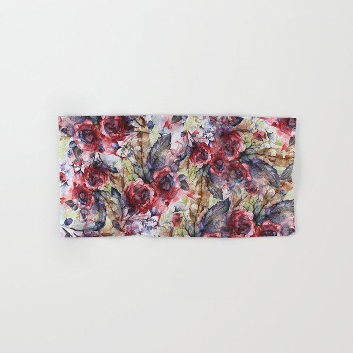 Bloodflowers Hand & Bath Towel
