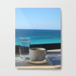 Cuban Coffee Metal Print