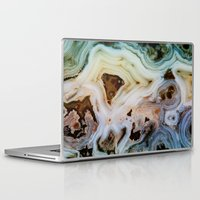 minerals Laptop & iPad Skins featuring THE BEAUTY OF MINERALS by Catspaws