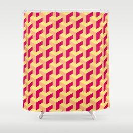 Pastel Cubes Shower Curtain
