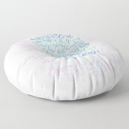 Trust and Obey - Hymn Floor Pillow