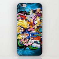 saga iPhone & iPod Skins featuring DBZ - Buu Saga by Mr. Stonebanks