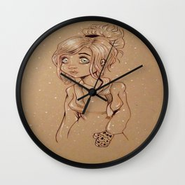 Winter love  Wall Clock