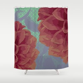 Survival of Flowers Shower Curtain