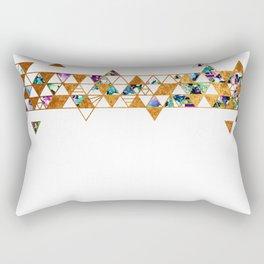 Alcohol Ink Tesselations Rectangular Pillow