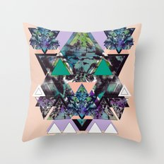 GEOMETRIC MYSTIC CREATURE Throw Pillow