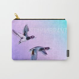 Stay Vibrant Carry-All Pouch