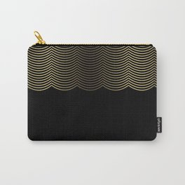 Golden Scallop Carry-All Pouch