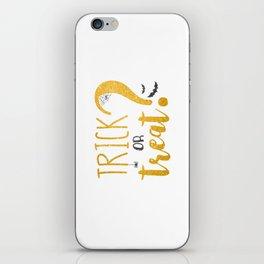 Trick Or Treat? | Glitter iPhone Skin