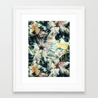 hibiscus Framed Art Prints featuring Hibiscus by RIZA PEKER