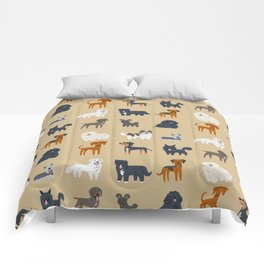 EASTERN EUROPEAN DOGS Comforters