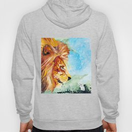 The Lion and the Rat - Animal - by LiliFlore Hoody